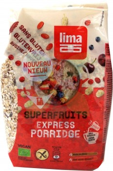Lima glutenfreies Superfruits Express Porridge (MHD: 01.06.19)  -Bio-