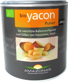 Amazonas Yacon-Pulver RAW Zuckeralternative  -Bio-