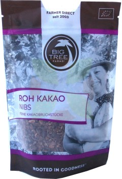 Big Tree Farms Roh Kakao Nibs  -Bio-