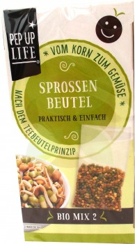 Pep Up life Sprossenbeutel Mix 2 (MHD: 11.05.18)  -Bio-